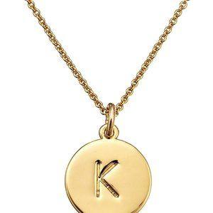 kate spade new york Gold-Tone Alphabet Pendant